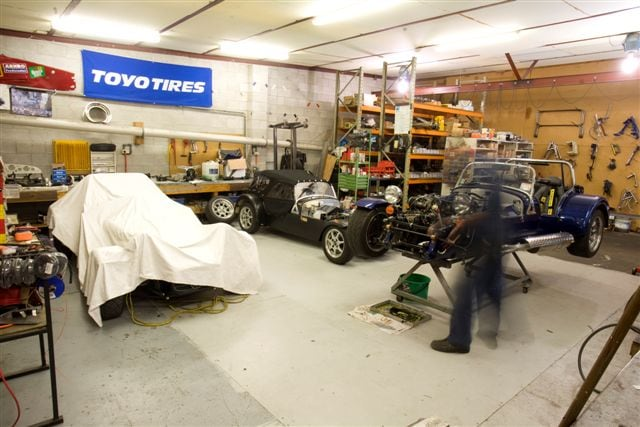 Fraser Cars Workshop
