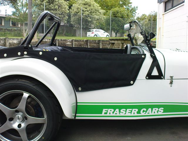 Side Spats from Fraser Cars