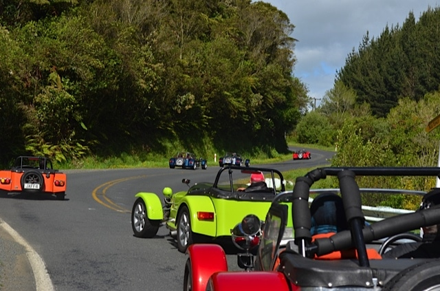 Caterham and Fraser Clubmans