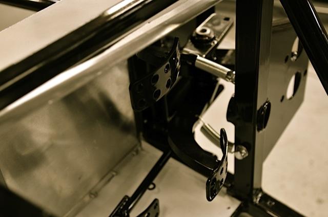Lotus 7 pedal box