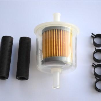 Low pressure fuel filter