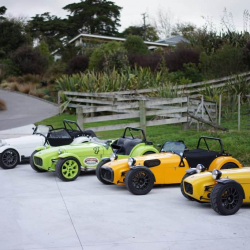 Fraser Cars, along with a host of Lotus 7 Kit Car enthusiasts get together