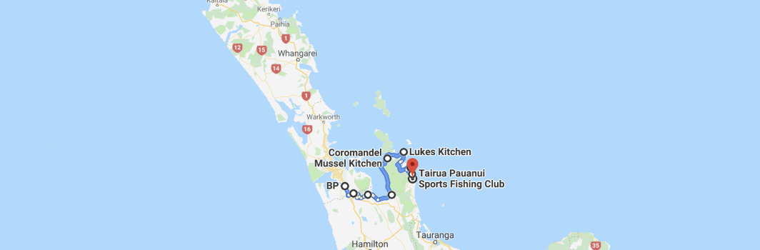 Coromandel Convoy – 4th May 2019